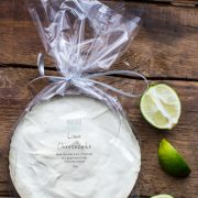 Lime cheesecake packaging